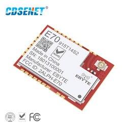 915 mhz CC1310 Transceiver rf Modul E70-915T14S2 SMD UART iot Sender und Empfänger 915 mhz SOC Entwicklung Für IPEX Antenne