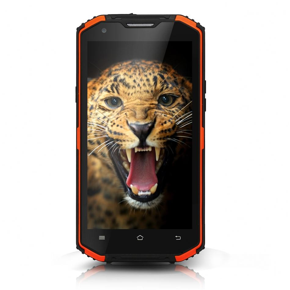Original NO 1 X3 Vphone x3 4500mAh Battery IP68 Waterproof Mobile Phone MTK6735 Quad Core 5