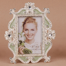 style retro photo frame big white baby children birthday small 3 inch photos of students