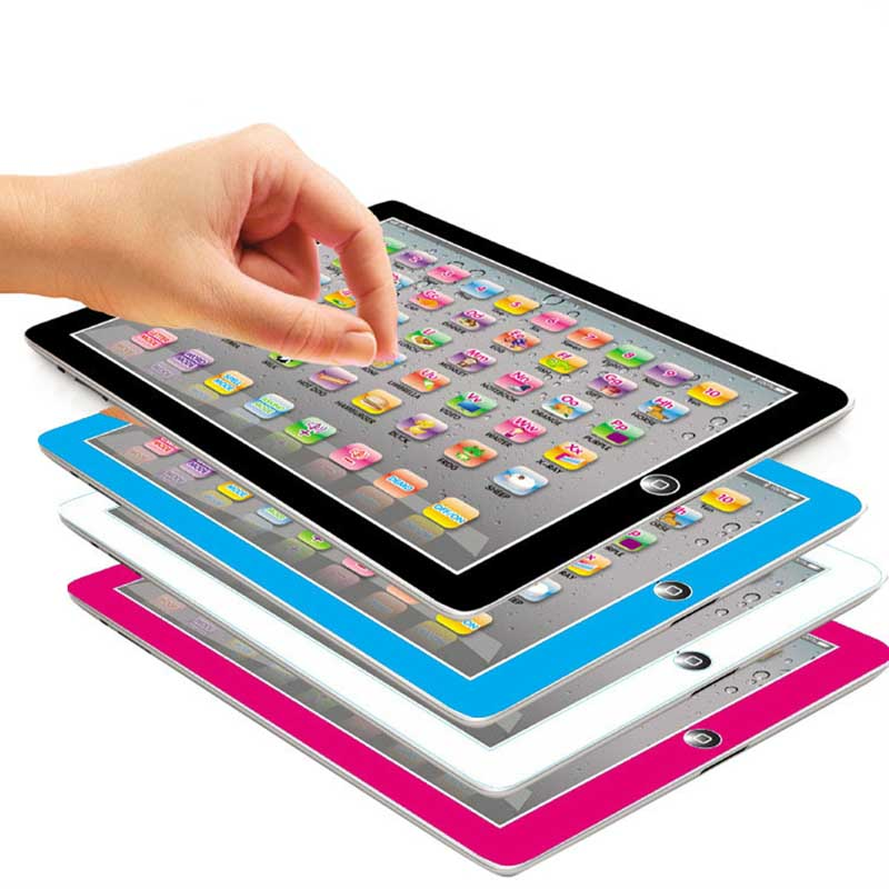 English Word Learning Machine Tablet Toys Pad With Game Kids Learning Toy Laptop Pad Learning Educational Toys For Children
