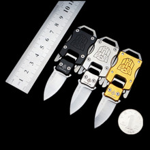 COG Transformers Mini Pocket Knife Multifunction Paratroopers Pope Camping Survival Folding Knives Portable EDC Keychain Tools