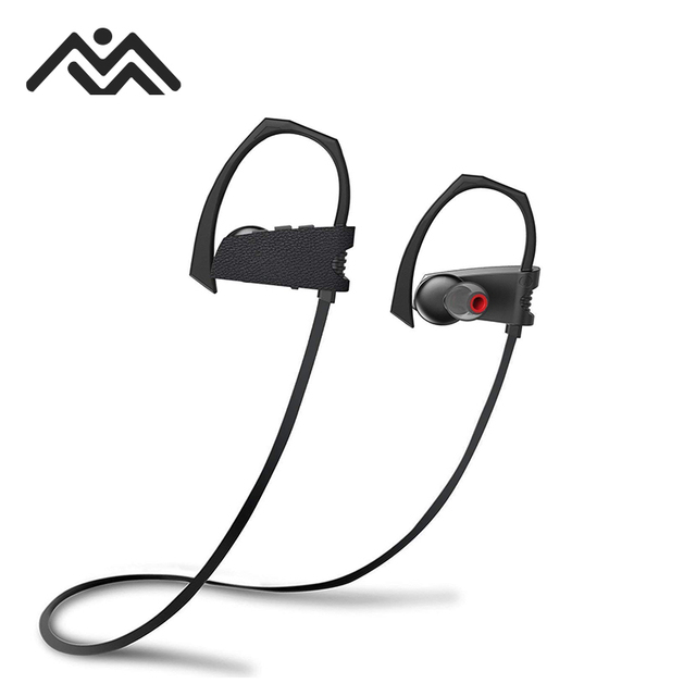 345e696e37f Bluetooth Headphones&Wireless Sports Earphones with Mic IPX8 Waterproof HD  Stereo Sweatproof Earbuds for Gym Running/Swimming