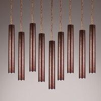 New Thick Aluminum Pendant Lamp Modern Beat Musical Instrument Hanging Pendant Light Restaurant Bar Bedroom Lighting