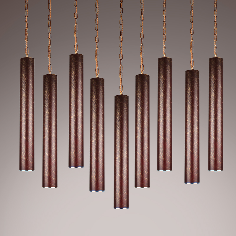 New thick aluminum Pendant Lamp Modern beat musical instrument Hanging pendant light Restaurant bar bedroom lighting pair of stylish red tassel drop earrings for women