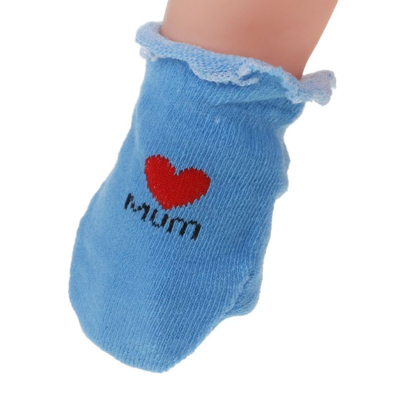 1 Set Baby Socks Gloves Prevent Scratch Face Warm Soft Breathable Cute Costume