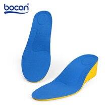 Bocan elevator shoes pad female full pad 3cm invisible elevator mat thermal sports female стоимость