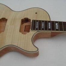 1 шт. незавершенная гитара- в том числе Гитара шеи и гитары тела набор