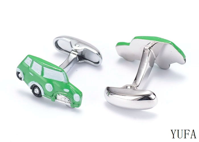 New car cufflinks for men high quality shirt cufflink novelty cuff links fathers day gifts Free shipping