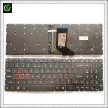New Retroiluminado Teclado Inglês para Acer Aspire VX5 591G VX15 VX5 793 VN7 593 VX5 591 VN7 793 VN7 593G VN7 793G N16W3 N16W4 EUA