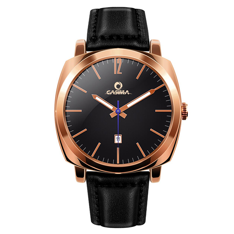 2018 new arrival  fashion sport rose gold men watch  waterproof wristwatch with black  leather  band  quartz male watches  5139 jinnaier 2017 new hot sales fashion 7colors retail men silicone sport wristwatch quartz watch