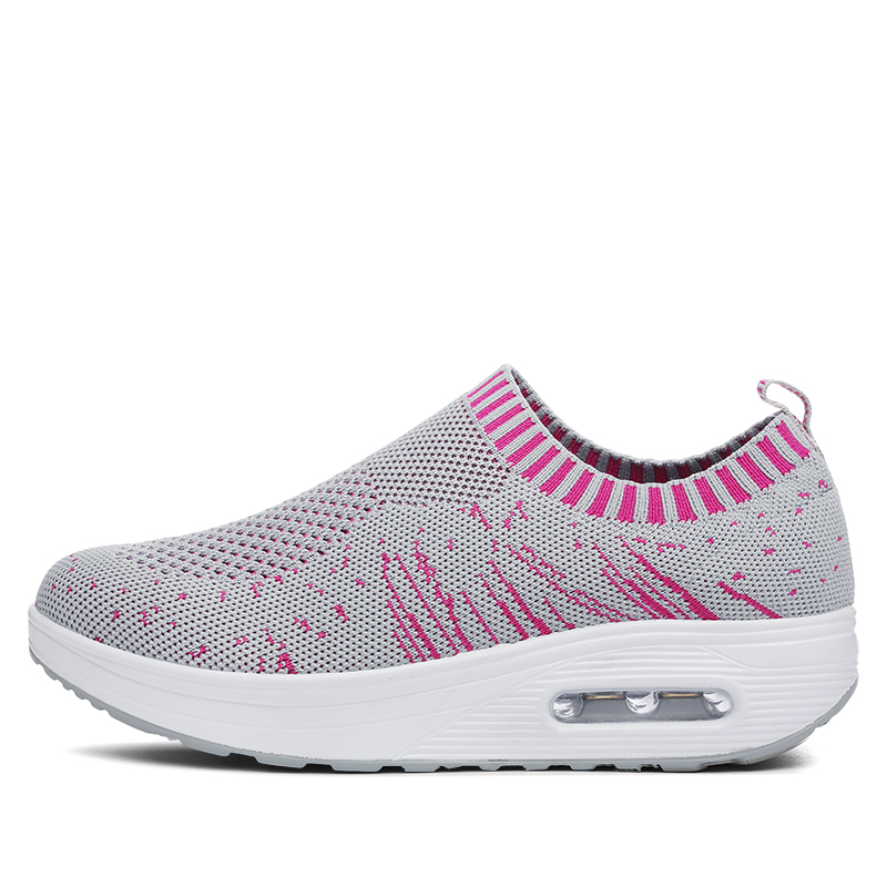 Running Shoes Women Sneakers New Flying air cushion Breathable Swing Shoes Women Light outdoor Sports Shoes Women size 35-40