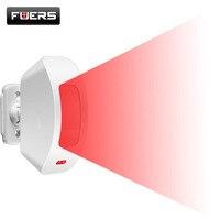 Беспроводной оконный занавес PIR детектор движения положительный инфракрасный датчик низкомощный дизайн цепи 433 МГц для системы сигнализац...