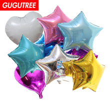 Decoration 18inch Star Foil Balloons 10 Pieces Wedding Event Christmas Halloween Festival Birthday Party PD-114