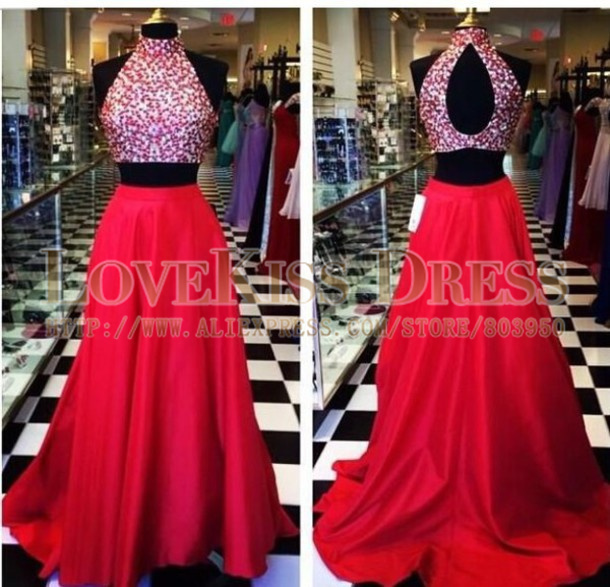 Alibaba Red Prom Dresses