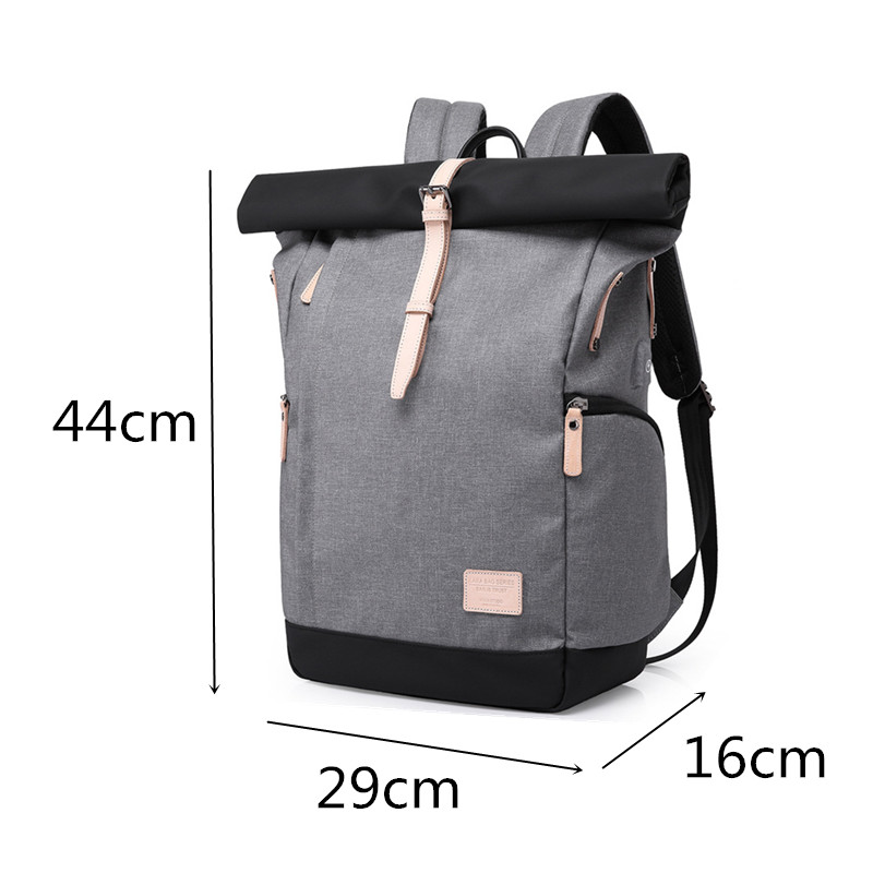 LHLYSGS brand 2018 new Multi-function double shoulder bag back pack man drawstring laptop backpack tour bagpac