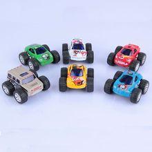 Cute Great Christmas Gift For Mini Big Wheels Metal Pull Back Car Children Toys Toy Model Kids Loving Nice