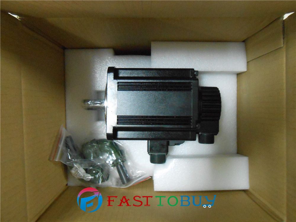 Delta AC Servo Motor 220V 1kW 3.18NM 3000rpm ECMA-C11010SS with Keyway Oil Seal brake New цена
