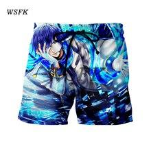 WSFK 2019 Summer Men's Beach Short Casual Print Shorts Men's Fashion Style Men's Short Beach Large Size шорты мужские