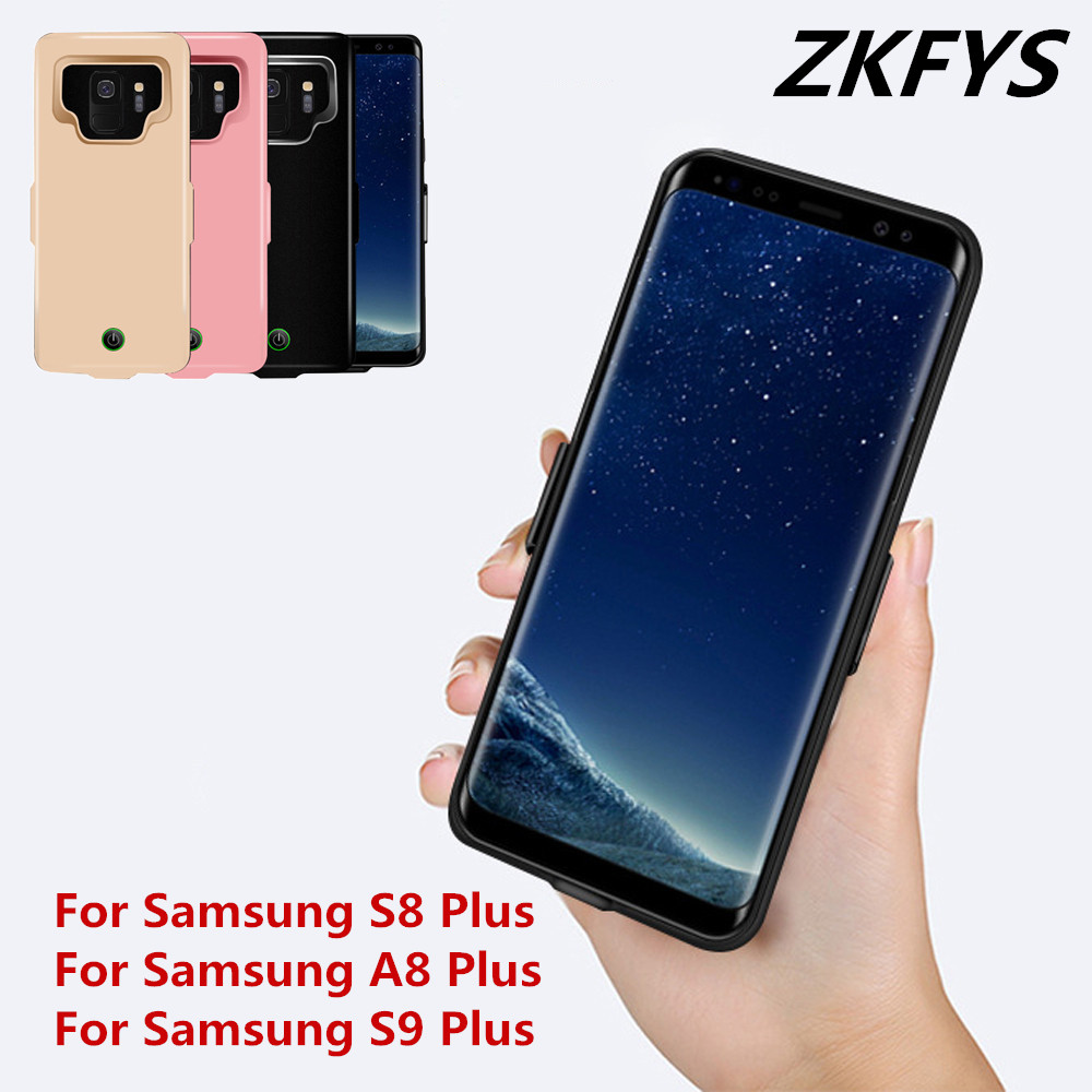 7000mAh Slim Powerbank Charging Case For Samsung Galaxy S9 S8 A8 Plus Power Bank Charger Cover For Samsung S8 S9 A8 Battery Case
