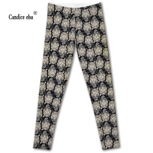 2016 new HOT Sexy Fashion Slim Pirate Leggins Pants Digital Printing  LEGGINGS hot angry eagle