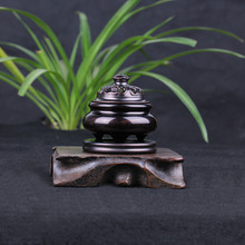 Copper antique triple incense seal Hong furnace oven grain fragrant Indian life Word cloud pattern sweet