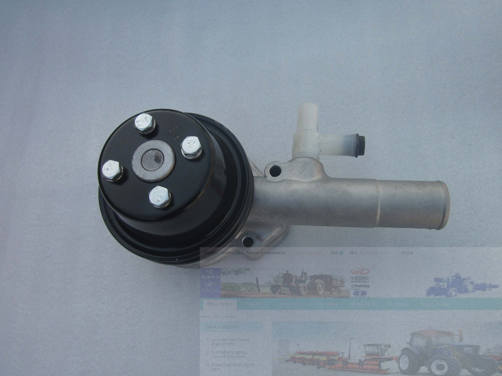 Laidong LL380, KM385BT, LL480 engine parts, the water pump assembly, part number: laidong kama km385bt for tractors like jinma foton dongfeng the high pressure fuel pump 3i344 part number km385bt 10100