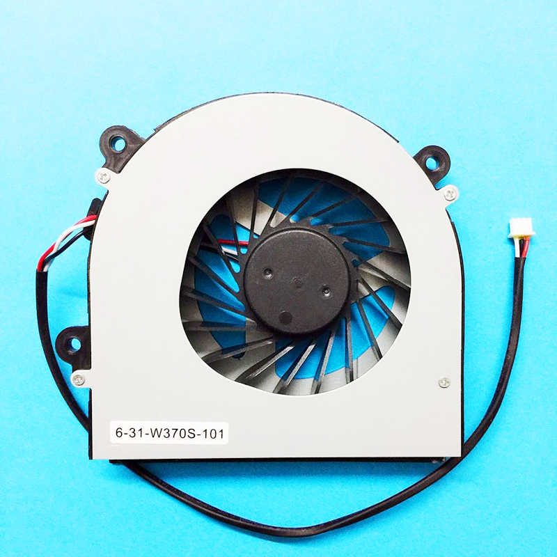 מעבד מחשב נייד חדש קירור מאוורר Cooler גוף קירור רדיאטור מחברת Fit עבור Hasee p5-i78172d1 k760e i7 K650D-SL5D1 i5 D1 D2 D3 d4 D5