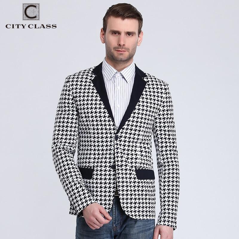 Classe Hommes Slim Ville Mode 2016 Vente Printemps Blazer Nouveau q5RPxawC