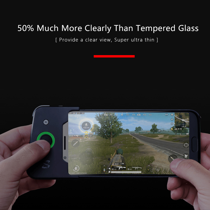 CHYI 3D curved film for xiaomi black shark smartphone screen protector soft silicone full cover explosion-proof  for black sh smartphone