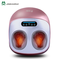 JinKaiRui Infrared Heating Automatic Foot Machine Massage Device Household Relaxation Medialbranch Acupoint Calf Leg Massagem