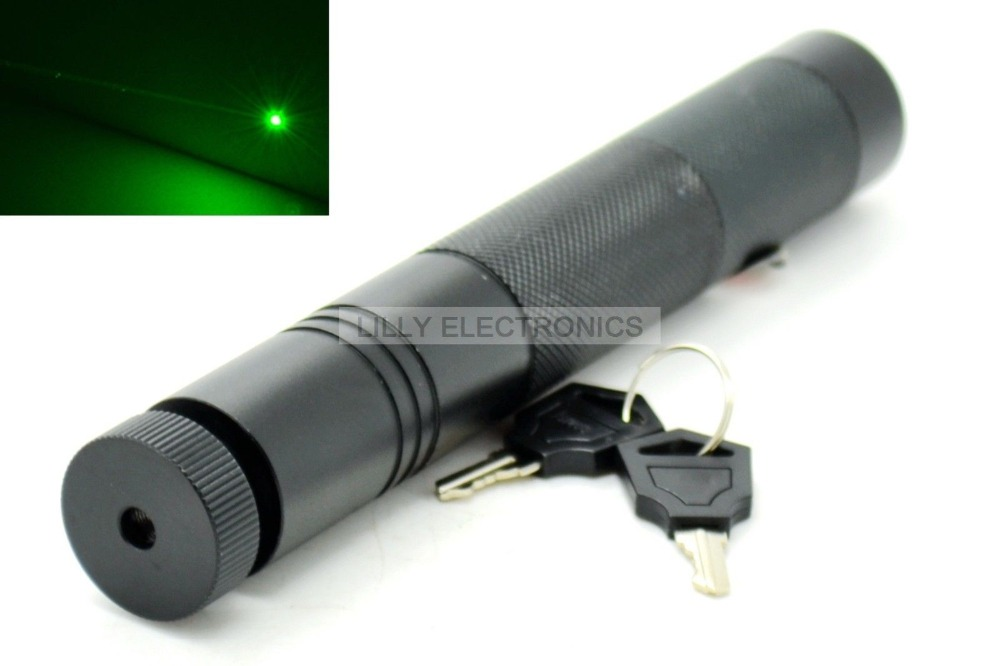 Super-Powerful 532nm 50mw Focusable Green Laser Pointer/Torch style