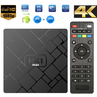 2018 Factory Outlet Andriod 8.1 System HK1 MAX 4+32g rk3328 Chip 4k Network Player Android Set Top Box