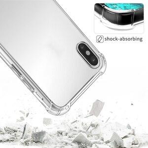 Image 5 - RONICAN etui na telefon iPhone 7 8 Plus przezroczyste etui na telefon iPhone X 8 7 6 6S 5 5s Plus miękka TPU silikonowa tylna okładka