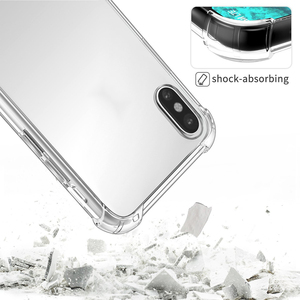 Image 5 - Ronican Telefoon Case Voor Iphone 7 8 Plus Transparante Anti Klop Gevallen Voor Iphone X 8 7 6 6S 5 5S Plus Soft Tpu Silicone Cover