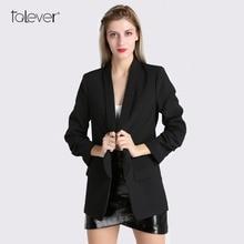 Spring Women Blazer Jacket Fashion 2018 Brand None Button Work Office Lady Suit Casual Slim Business Female Blazer Coat Talever