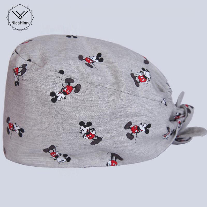 New Surgical Caps Scrub Cap Nurse Doctor Medical Cap Unisex Hospital Dentist Lab Clinic Dental Operation Hat Medical Accessories