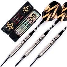 Cuesoul Soft Tip Tungsten Darts - Precise Barrels 16.10 Grams 85% Tungsten Dart Set cuesoul 18 grams soft tip tungsten darts 85