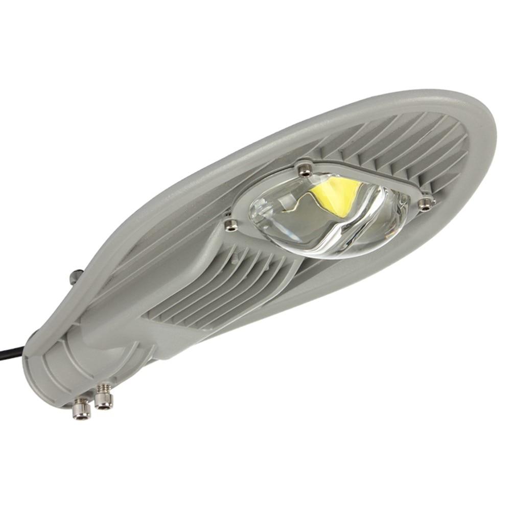 ФОТО 30W LED Street Lights Waterproof IP65 AC85-265V Path Light Outdoor Lighting Aluminum Road Lamp Warm / Cold White