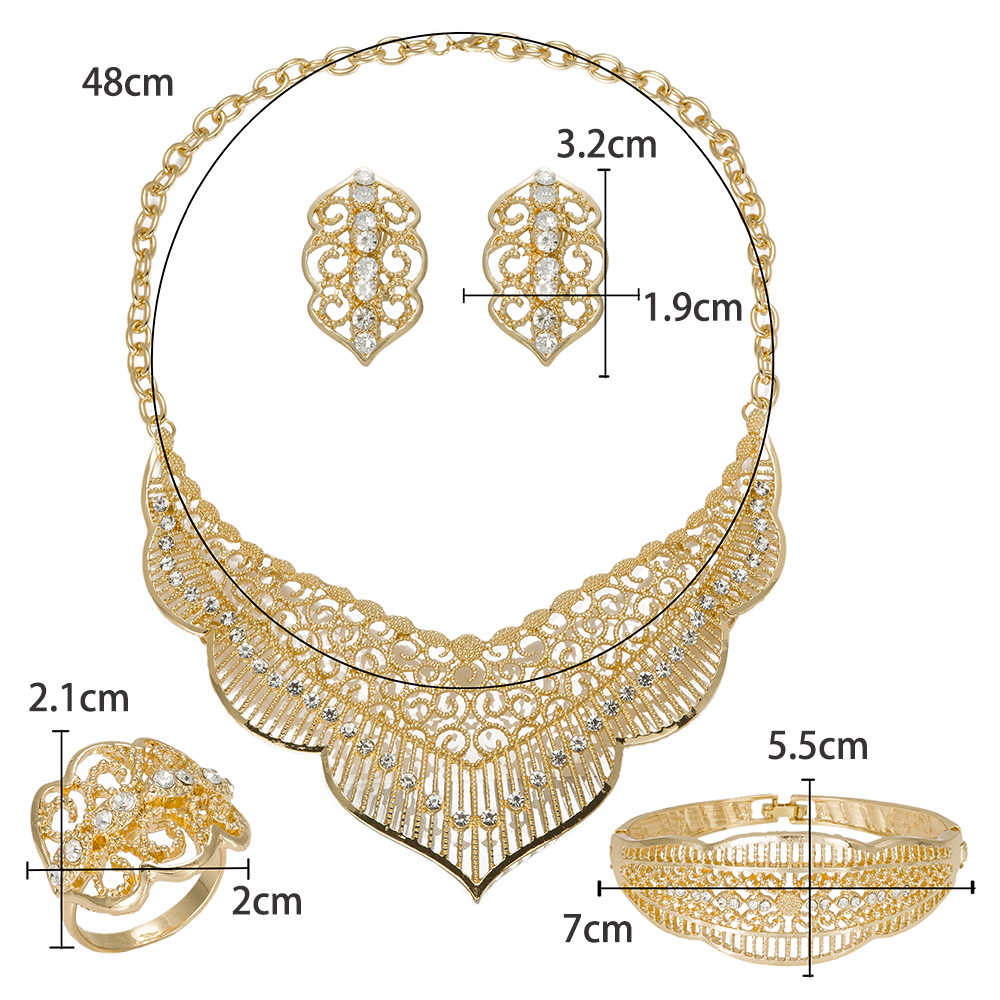 MuKun Trendy african bridal jewelry sets wedding african beads jewelry set  nigerian wedding jewellery sets for women necklace