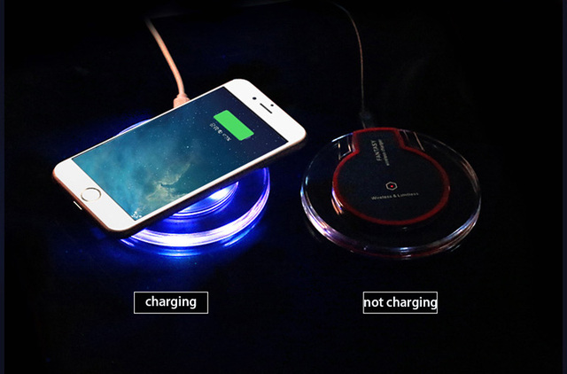 Elough QI Wireless Charger Pad For Samsung Galaxy S7 S6 Edge Note 5 Google Nexus 4 5 6 7 Mobile Phone Charging USB QI Charger