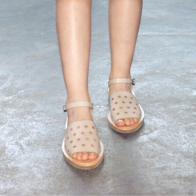 De nieuwe vrouwelijke zomer sandalen retro tij kleine verse - Damesschoenen - Foto 4