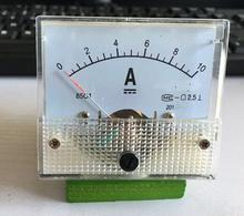 85C1 DC 0-10A Analog Amp Panel ammeter pointer type current meter panel