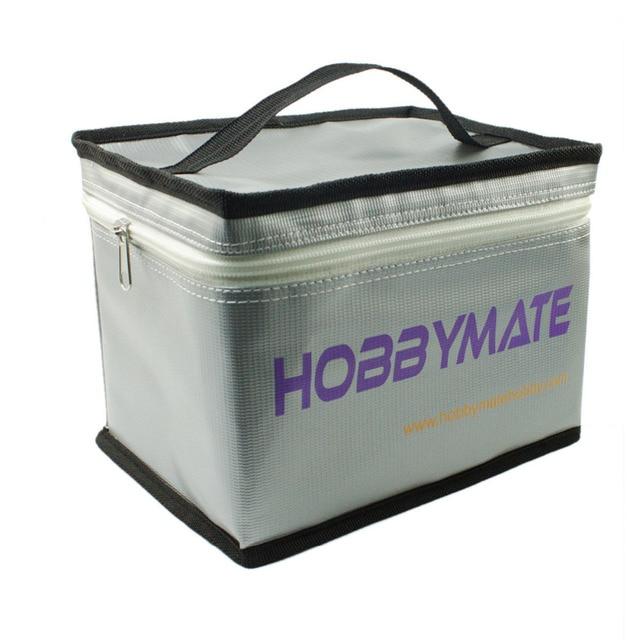 Free shipping Lipo Battery Storage Fireproof Safe Guard Bag 20*15*15cm For Charging & Storage battery safe bag