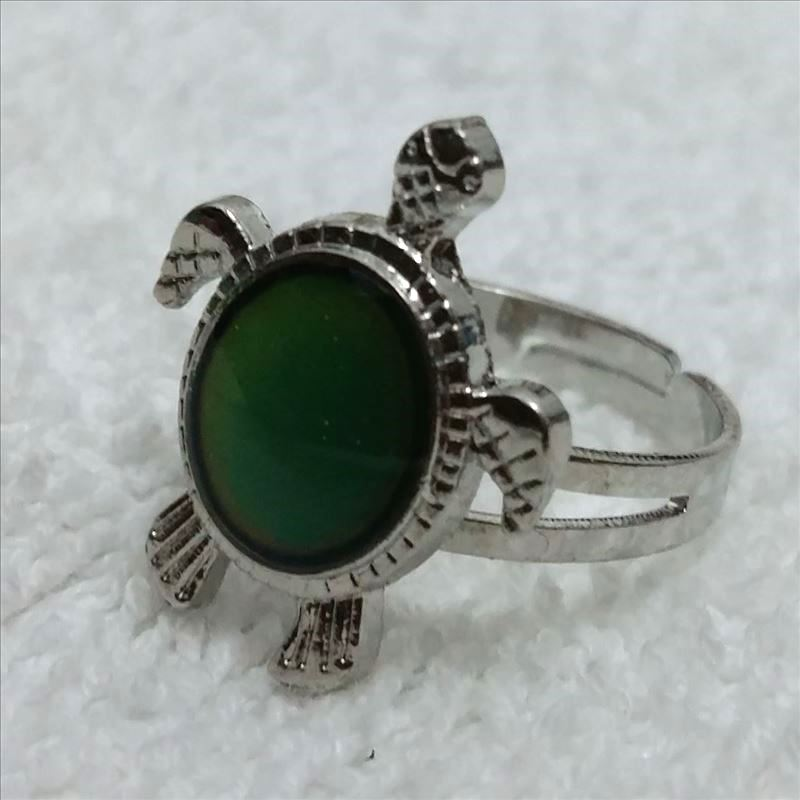 Mood Anelli umore anello di personalità anello regolabile temperatura tartaruga tartaruga-in Anelli da Gioielli e accessori su  Gruppo 1