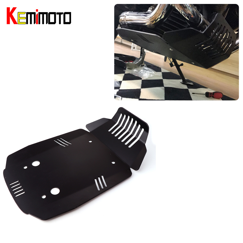 KEMiMOTO Engine Guard Skid Plate For BMW R NINE T 2013 2014 2015 2016 2017 Protector Del Motor Motorcycle Accessories motorcycle front engine case cover breast plate protection accessories for bmw r nine t 2013 to 2017 2018 r ninet pure scrambler