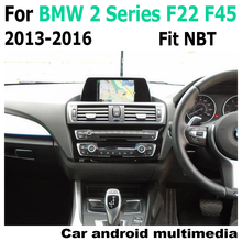 Car Android screen For BMW 2 Series F22 F45 NBT touch display GPS Navigation radio stereo Audio head unit multimedia player for bmw 2 series f22 f23 2012 2017 nbt car android navigation gps touch hd screen multimedia player stereo display audio radio