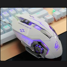 USB Wired Mouse 4 Grades DPI LED Colorful Light Gaming Mouse Smooth Wheel Ergonomics PC Laptop Notebook Computer Peripherals