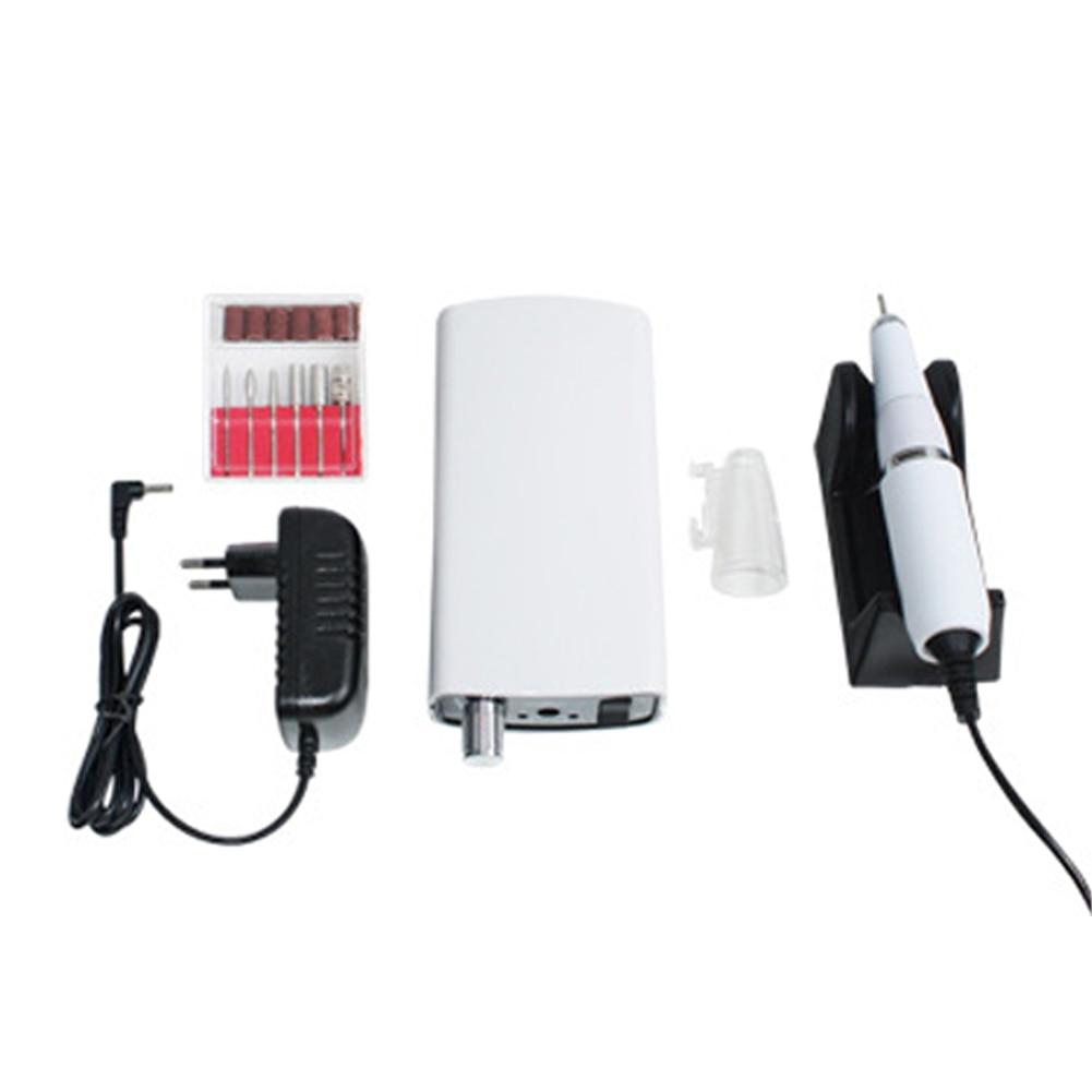พร้อมคลิปขัด Professional Home แบบพกพาขนาด Bits ชาร์จชุดเครื่องแฟ้มเล็บ Stable ไฟฟ้า-ใน สว่านเจาะเล็บไฟฟ้าและอุปกรณ์เสริม จาก ความงามและสุขภาพ บน   1