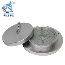 Round Spirit Levels Crane horizontal bubble Level Measuring Instrument Size 100*75*20mm 1 order Bubble level wheels go round level 1