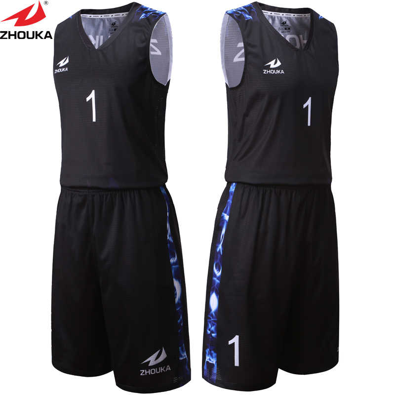 d85dc5a4b65 ... Black Color Sublimation Printing Custom Men s Summer Basketball Clothes  Sets Basketball Jersey Shorts Running Training Suit